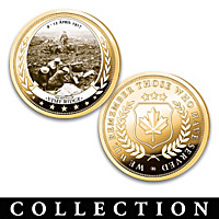 The Greatest Canadian War Battles Proof Coin Collection