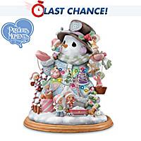 Precious Moments Making The Season Bright Snowman Figurine