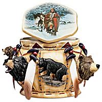 Spirit Of The Bear Keepsake Box