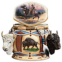Spirit Of The Buffalo Keepsake Box