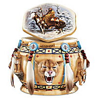 Spirit Of The Cougar Keepsake Box