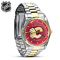 NHL® Calgary Flames® Men\'s Watch