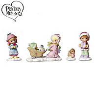 Precious Moments Village Accessory Set