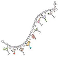 The Happy Hour Charm Bracelet