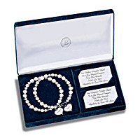 The Love We Share Diamond Bracelet Set