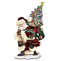 Bringing Christmas Cheer Figurine