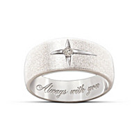 Forever In Faith Diamond Men And Women\'s Ring