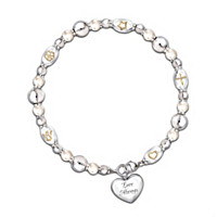 Dearest Daughter, Your Greatest Gifts Diamond Bracelet