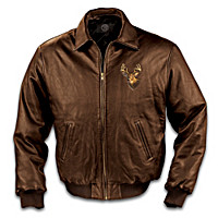The Northwoods Legends Men\'s Leather Jacket