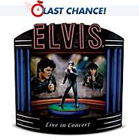 Elvis Live In Concert Music Box