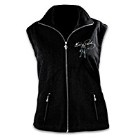 Elvis Ready To Rock Fleece Vest
