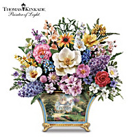 Thomas Kinkade All American Artificial Flower Bouquet