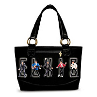Elvis King Of Rock And Roll Tote Bag