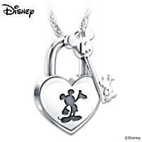 Disney Unlock The Magic Pendant Necklace