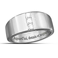 Aujourd\'hui, demain et toujours Diamond Men\'s Ring