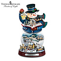 Thomas Kinkade Twas The Night Before Christmas Figurine