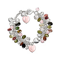 All Things Grow With Love Gemstone Bracelet
