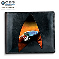 U.S.S. Enterprise Men\'s Wallet