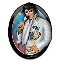 Elvis: Living Legend Wall Sculpture