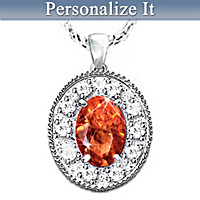 Legend Of The Birthstone Pendant Necklace