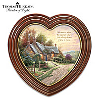 Thomas Kinkade It's Always Home Wall Decor