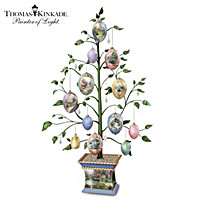 Thomas Kinkade Easter Blessings Tabletop Tree
