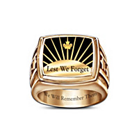 Lest We Forget Ring Size 9-1/2