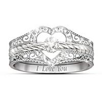 I Love You Diamond Ring