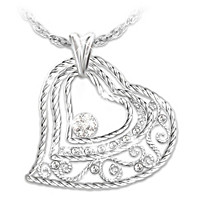 Our Love Grows Diamond Pendant Necklace
