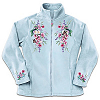 Blossoms And Butterflies Women\'s Jacket