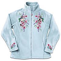 Blossoms And Butterflies Women\'s Jacket