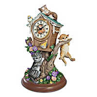 Timeless Tails Tabletop Clock