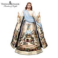 Thomas Kinkade Visions Of Faith Sculpture