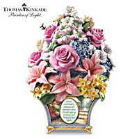 Thomas Kinkade Bouquet Of Memories Sculpture