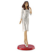 Kate Middleton, Officially Elegant Figurine