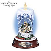 Thomas Kinkade Making Spirits Bright Tabletop Centerpiece