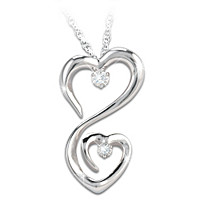 Always My Daughter Diamond Pendant Necklace