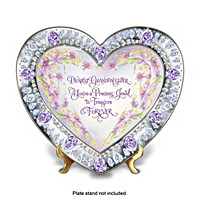 Granddaughter, You\'re My Heart\'s Treasure Collector Plate