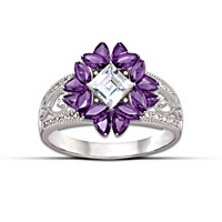 Twilight Lavender Ring