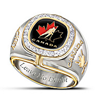 Team Canada Diamond Ring
