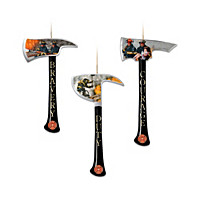 Firefighter Axe Ornaments