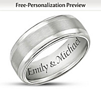 Our Forever Love Personalized Ring
