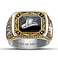 Spirit Of The West Men\'s Ring