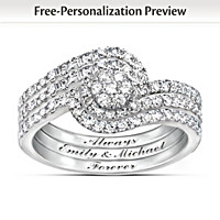 The Story Of Our Love Personalized Diamond Ring