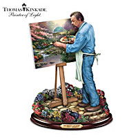 Thomas Kinkade Painter Of Light Sculpture