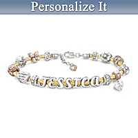 My Daughter, My Love Personalized Bracelet