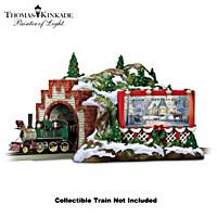 Thomas Kinkade Christmas Mountain Tunnel Accessory