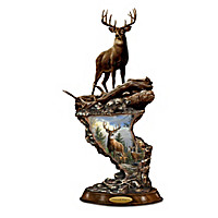 Whitetail Majesty Sculpture
