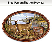 Woodland Retreat Personalized Collector Plate