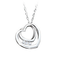 Daughter, I\'ll Love You Forever Pendant Necklace